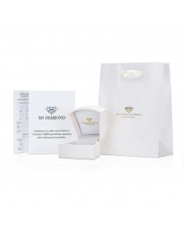 Pierścionek Zaręczynowy z brylantem Pierścionek Zaręczynowy z brylantem białe złoto 5850A56.10