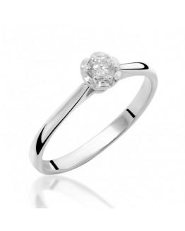 Pierścionek Zaręczynowy z brylantem 5850B96