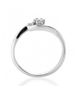 Pierścionek Zaręczynowy z Brylantem 5850C78