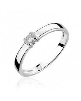 Pierścionek Zaręczynowy z markowym brylantem 5850B93