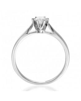 Pierścionek Zaręczynowy z brylantem białe złoto 5850A56.10