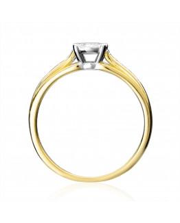 Pierścionek z brylantami 5850B02 0,19 ct w 24 godziny ekspres. Markowa biżuteria