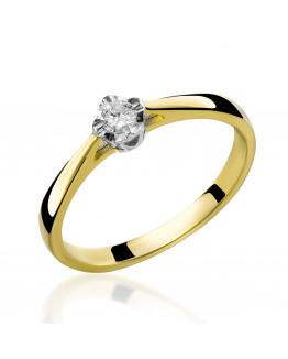 Pierścionek Zaręczynowy z Brylantem 5850B69.10
