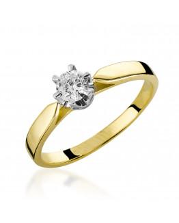 Pierścionek Zaręczynowy z Brylantem 5850B72