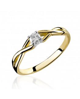 Pierścionek Zaręczynowy z Brylantem 5850C06B