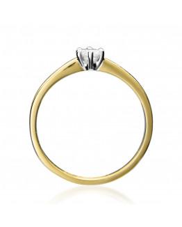 Pierścionek Zaręczynowy z Brylantem Producent 5850C26