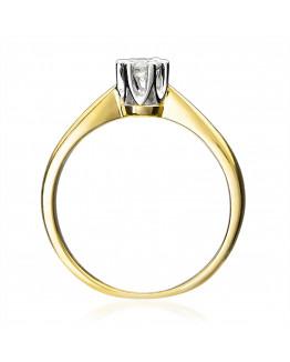 Pierścionek Zaręczynowy z Brylantem 5850C42 0,30ct