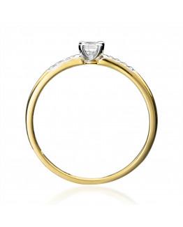 Pierścionek Zaręczynowy z Brylantem 5850C64