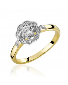 Pierścionek Zaręczynowy z Brylantem 5850C70