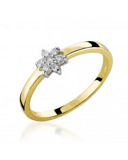Pierścionek Zaręczynowy z Brylantem Jubiler online 5850C71