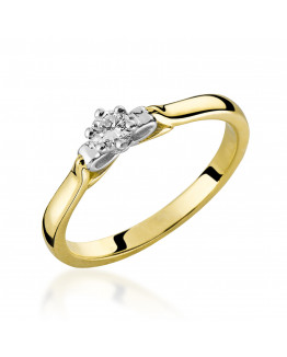 Pierścionek Zaręczynowy z Brylantem 5850C77