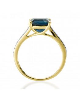 Pierścionek zaręczynowy z brylantem RSV0053