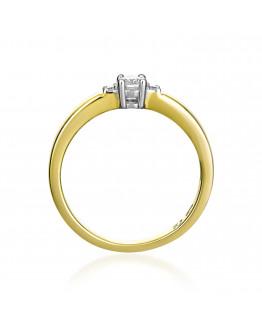Pierścionek Zaręczynowy z brylantem model 5850C92 24h