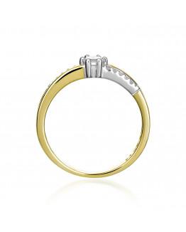 Pierścionek Zaręczynowy z brylantem model 5850C81
