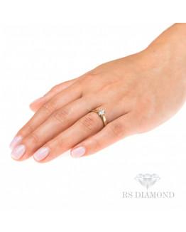 Pierścionek Zaręczynowy z brylantem 5850C36.15 Markowa biżuteria
