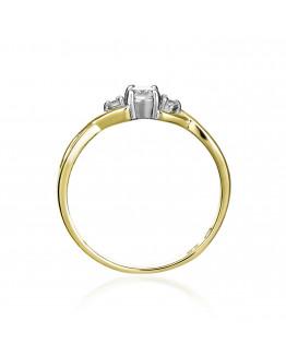 Pierścionek Zaręczynowy z brylantem model 5850C06