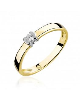Pierścionek Zaręczynowy z brylantem model 5850B93