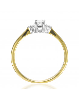 Pierścionek Zaręczynowy z brylantami 5850B92