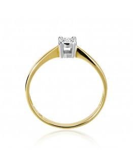 Markowy pierścionek z brylantem 5850A53 0,04 ct