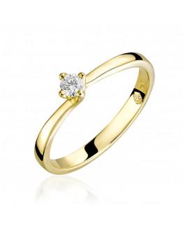 Pierścionek Zaręczynowy z brylantem 5850C87