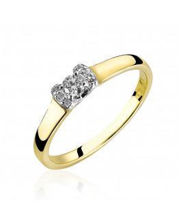 Pierścionek Zaręczynowy z brylantem 5850C84