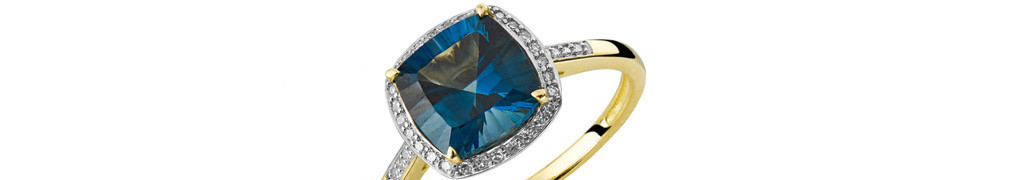 Engagement Rings with Topaz Jeweler Bialystok